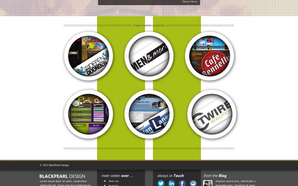 BlackPearl Design Website